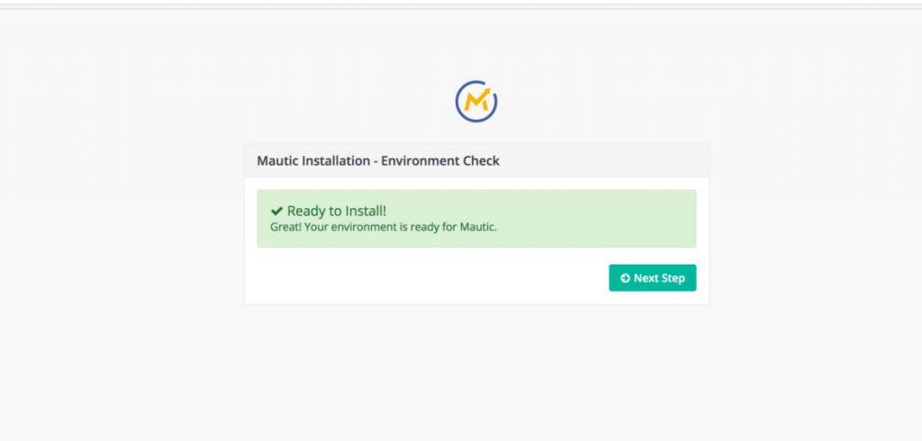 Instalacja Mautic - krok 1 - weryfikacja ustawień serwera