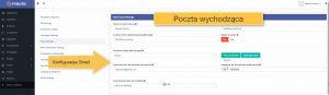 Konfiguracja poczty emial wychodzącej Gmail w Mautic