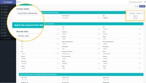 Mapowanie danych - import bazy marketing automation Mautic