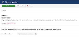 Mautic i Joomla - wtyczka, integracja