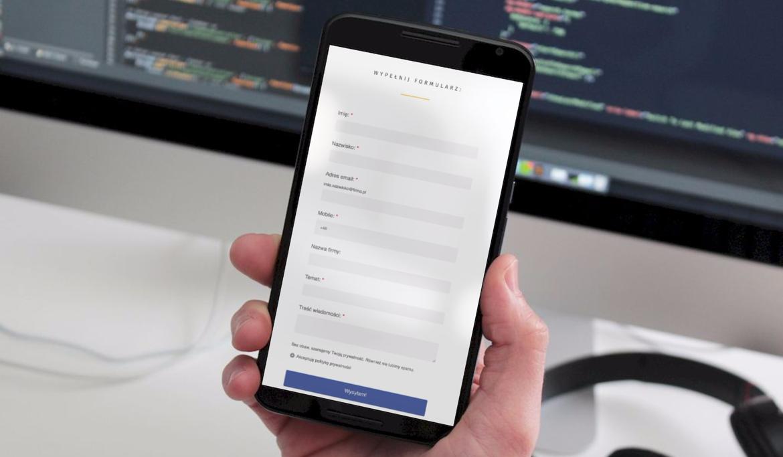 Zarządzanie formularzami – fundament e-mial & marketing automation