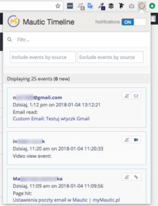 Gmail i Mautic - Open Source? System marketing automation