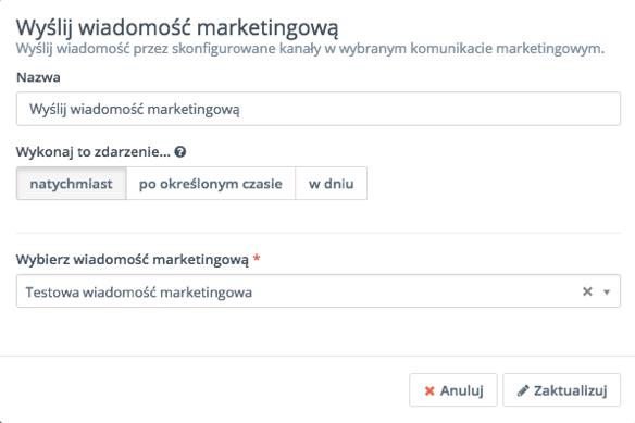 wiadomości marketingowe